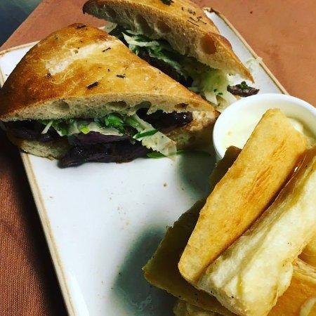 Morristown, NJ: Chimichurri steak sandwich
