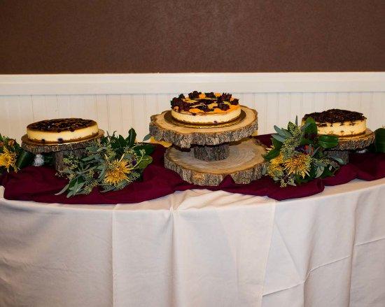 Orofino, ID: Wedding Cheesecakes
