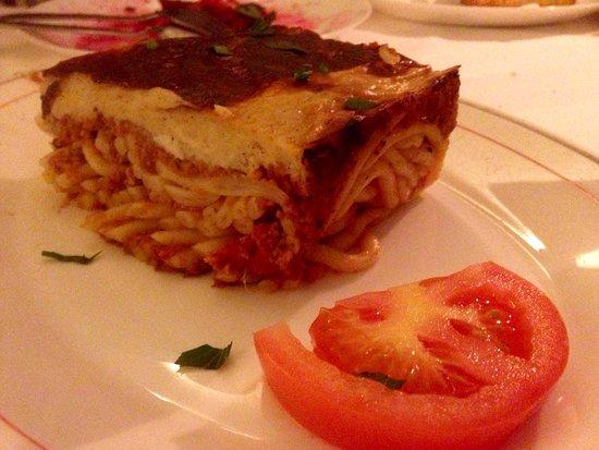 TA PANTA RI: Pastitio - köstlich!