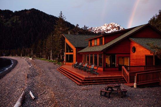 Kenai Fjords Wilderness Lodge guest lodge.