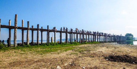 Puente U Bein: U Bein, il lungo ponte in tek
