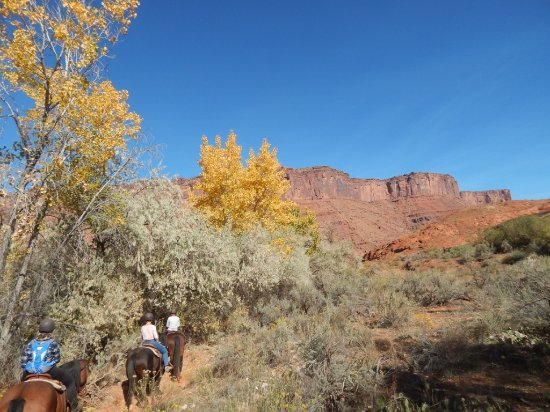Red Cliffs Lodge: On the trail near the lodge