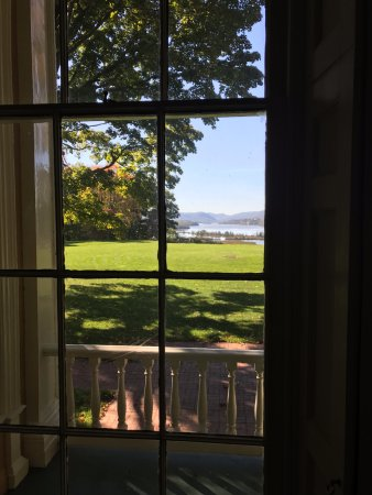 Garrison, NY: view from the house