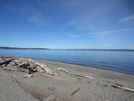 Bainbridge Island, WA: North beach
