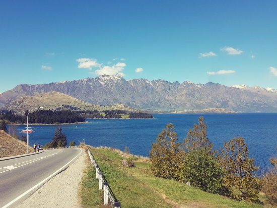 Heritage Queenstown : View from outside the hotel.
