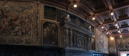 Hearst Castle: Room where guests gathered for activities