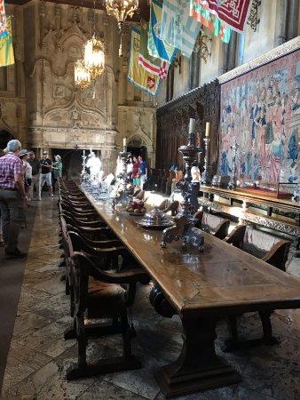 Hearst Castle: Dining room