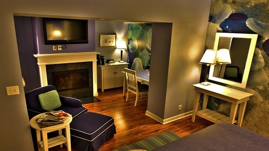 Hotel Indigo Chicago Downtown Gold Coast: King Feature Room w/ Fireplace