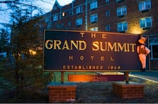 Exterior of The Grand Summit Hotel