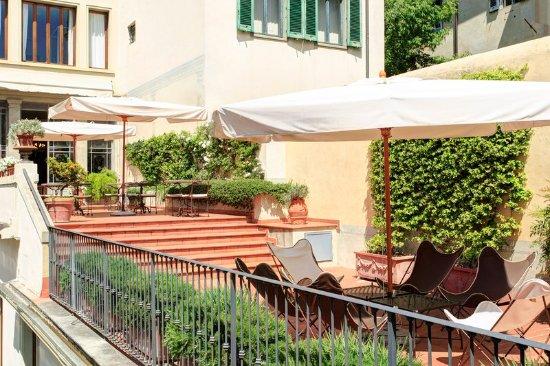 Terrazza - Picture of Hotel Orto De Medici, Florence - TripAdvisor