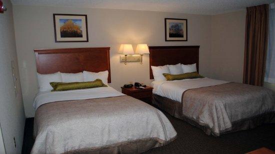 โคโลเนียลไฮทส์, เวอร์จิเนีย: Double Bed Guest Room