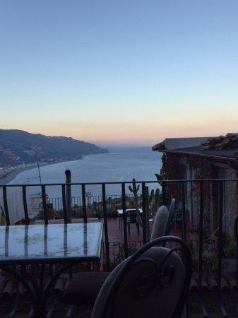 Hotel La Pensione Svizzera: View from breakfast area