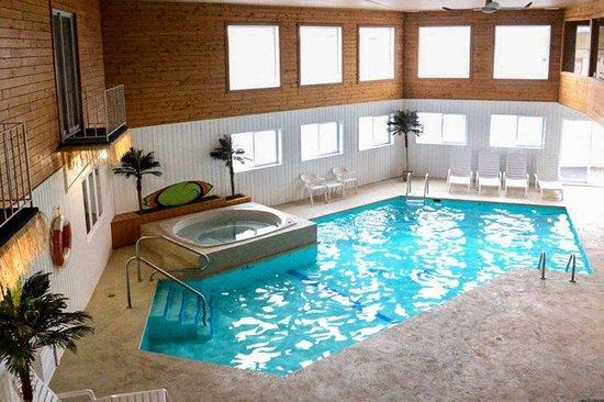 Grand Falls, Καναδάς: Indoor pool