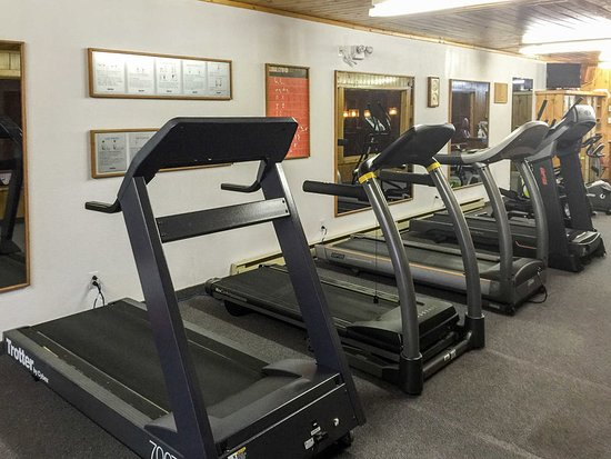 Grand Falls, Καναδάς: Fitness center