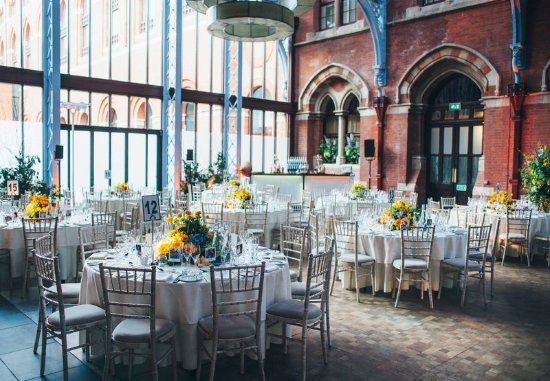 St. Pancras Renaissance Hotel London: Hansom Hall Meeting Room – Wedding Reception