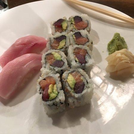 Bethesda, Maryland: bethesda roll! and Hamachi