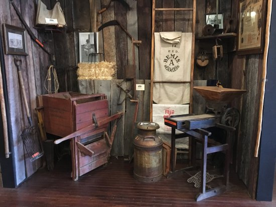 Otsego County Historical Museum: agriculture history display