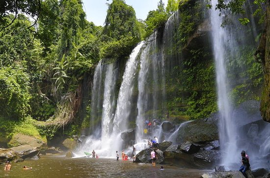 Phnom Kulen and 1000 Lingas River - Private Day Tour from Siem Reap