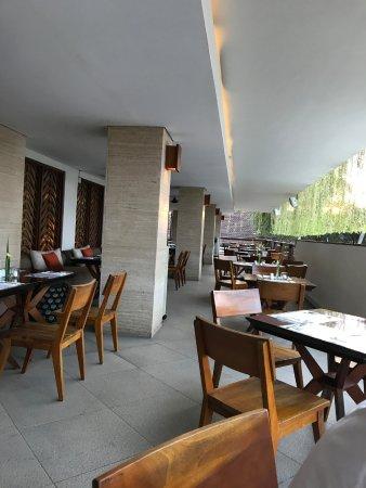 Mozzarella at The Magani Hotel: Mozzerella outside dining area