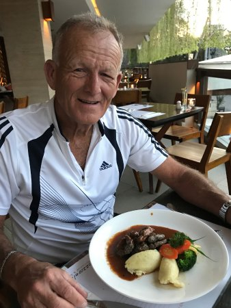 Mozzarella at The Magani Hotel: Celebrating our birthdays