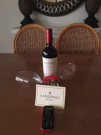 The Landings St. Lucia: When we arrive this was on the dining table.