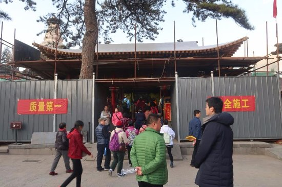 Wanfoge Temple: Entrance to Wuye