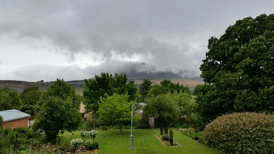 Harrismith, Νότια Αφρική: The view from the patio