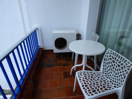 Hotel Transatlantique Meknes: balcon