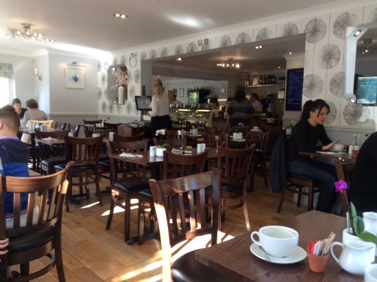 Twig and Spoon Restaurant: The inside(you don't see it this empty very often)