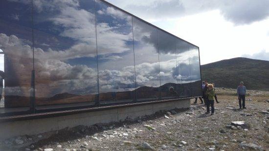 Dovre, Norway: הפביליון מבחוץ