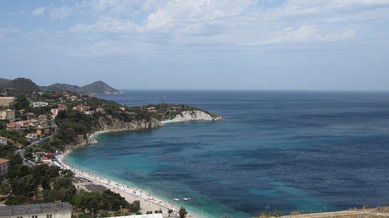 View of Capo Bianco Beach