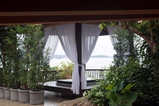 Samui Bayview Resort & Spa: The beautiful spa area