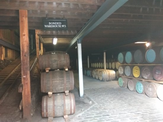 Keith, UK: Prized possession ! ageing in casks . .