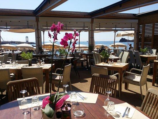 Restaurant Sur La Plage Theoule Sur Mer