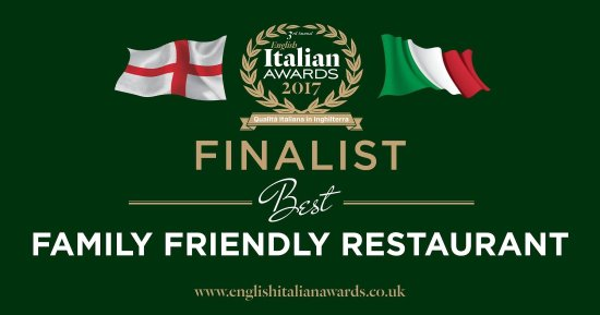 Mamma Mia Pizzeria & Ristorante Italiano : We were finalists in the Best Family Friendly Restaurant, voted by customers for restaurants all