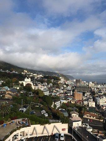 Ito Hotel Juraku: 虹が見えました!