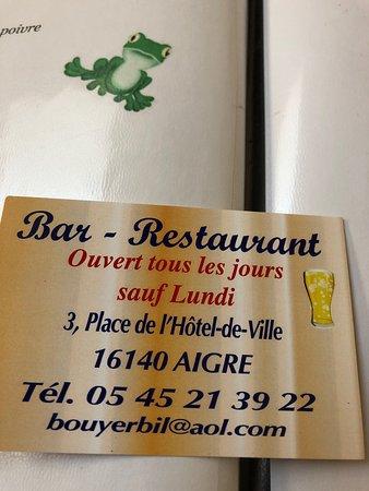 Aigre, França: photo0.jpg