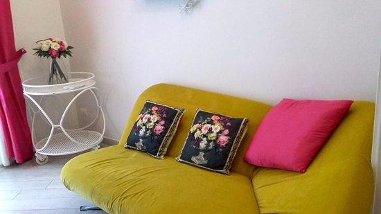 Vila Scaramellino Relais : the room