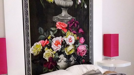 Vila Scaramellino Relais : the bed
