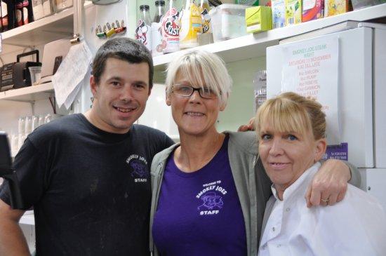 Scorrier, UK: Happy staff