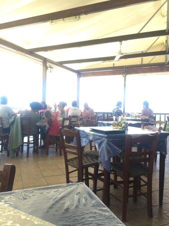 Agia Roumeli, Greece: Terrazza del ristorante