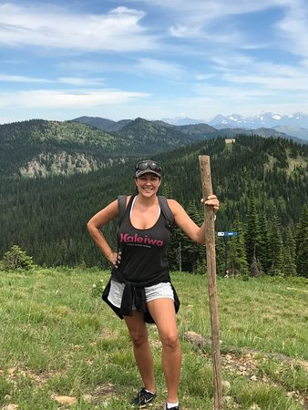 Whitefish, MT: The big stick! LOL