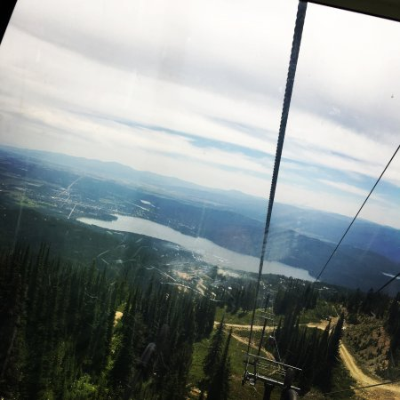 Whitefish, Montana: Through the glass