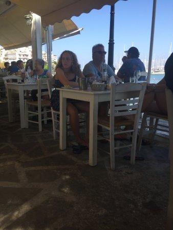 Agios Nikolaos, Grèce : Terrazza esterna
