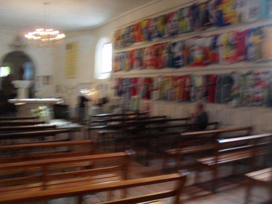 Labastide-d'Armagnac, France: binnen in kapel