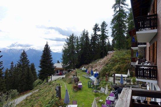 Bettmeralp, Switzerland: Hotel Waldhaus: View from Economy Double Room