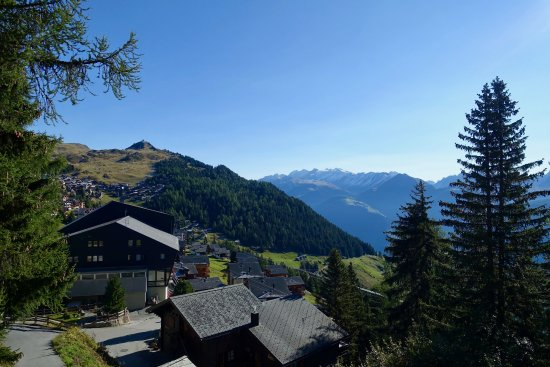 Hotel Waldhaus: View from Bettmeralp-Blick Room