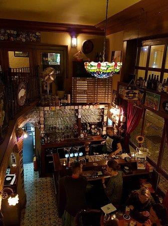 billies bier kafetaria interieur