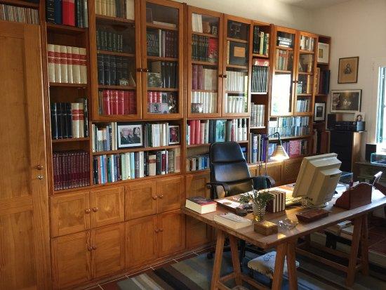 Casa Jose Saramago: Su despacho en la casa