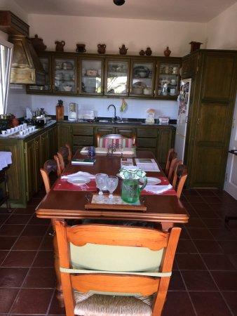 Casa Jose Saramago: La cocina donde te invitan a tomar café
